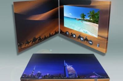 Κάρτες, Κατάλογοι & Brochure με Οθόνη Βίντεο