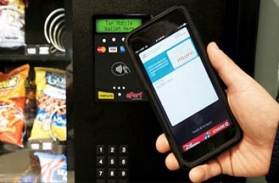 Σύστημα Αυτόματης Πληρωμής με Κινητό (αντί μετρητών) για κάθε Αυτόματο Πωλητή της αγοράς