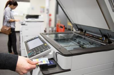 Χρέωση Φωτοτυπιών/Εκτυπώσεων/Σαρώσεων με Κάρτα