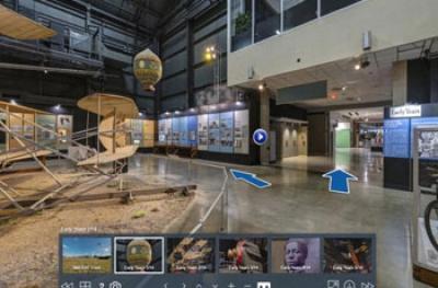 3D Εικονική Περιήγηση σε Ιστοσελίδα για ΜΟΥΣΕΙΑ