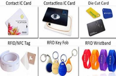 RFID Αυτοκόλλητα & Μπρελόκ